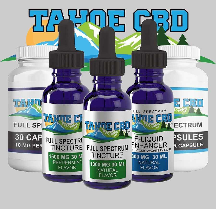 Tahoe CBD CBG Oil in South Lake Tahoe