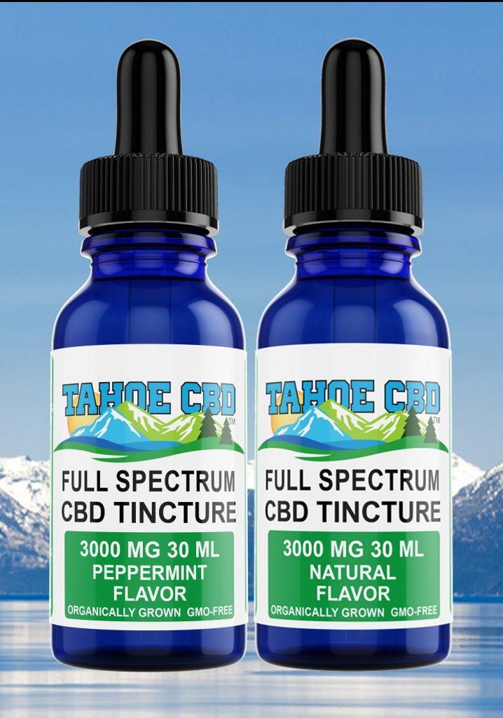 Tahoe CBD Tinctures in South Lake Tahoe CBG Pro